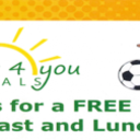 Free Breakfast - Lunch