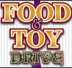 FOOD AND TOY DONATION