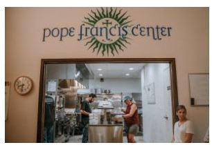 Works of mercy come to life at Detroit's Pope Francis Center