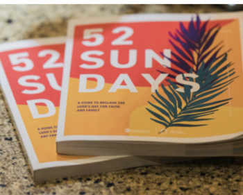 Archdiocese introduces '52 Sundays' 2021, a 'handbook' for families in pandemic year
