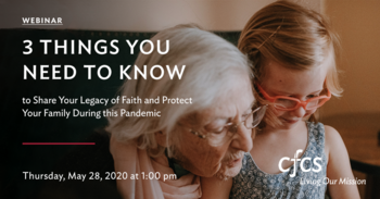 3 Things you need to know to share your legacy of faith