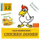 Old Fashioned Chicken Dinner at Holy Family, Decatur