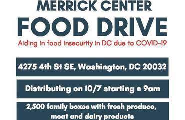 City Gate DC Free Food Drive