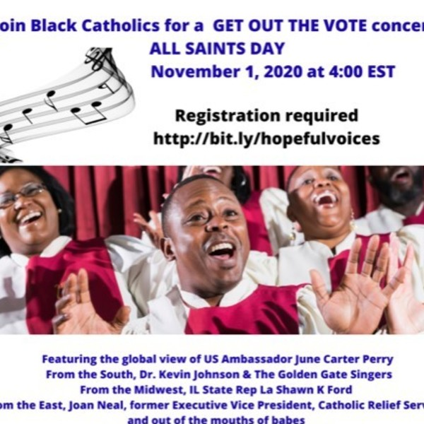 Get Out The Vote Concert - All Saints Day