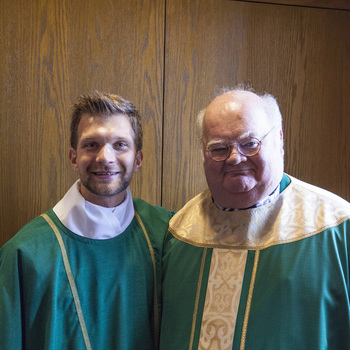 Deacon Kevin Klonowski's first Mass as Deacon