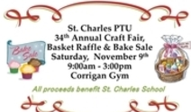 St. Charles PTU Craft Fair, Basket Raffle & Bake Sale