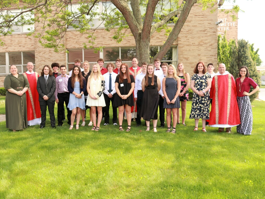2021 Confirmation Students