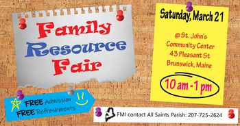 Family Resource Fair - March 21, 2020