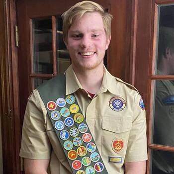 Patrick Boardway makes Eagle Scout