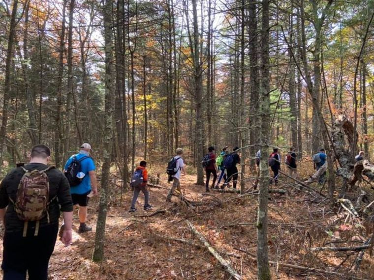Scout Hike - October 2020