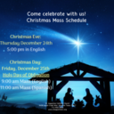 Christmas 2020 at St. Augustine Catholic Church