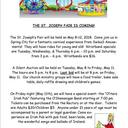 St. Joseph's Fair - May 8 - 12th!