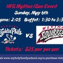 Mother/Son Reading Fightin Phils - May 6th