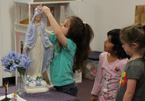 Faith in Action for our Preschool and PreK students.