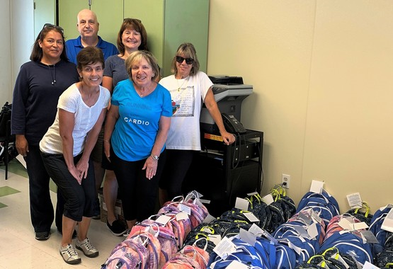 St Anthony parishioners deliver backpacks to Amigos de Guadalupe in San Jose