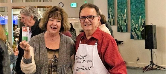 St Anthony parish San Jose pasta night chef guest.