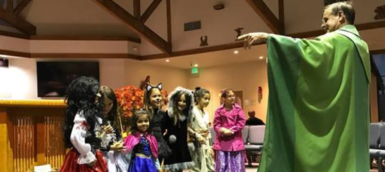 St Anthony parish in San Jose trunk or treat pastor kids.