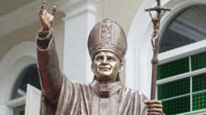 Statue of St. Pope John Paul II