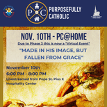 Purposefully Catholic @Home: Join us from home or at St. Pius X
