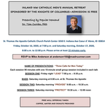 FREE Inland NW Catholic Men's Annual Retreat: Speaker - Dr. Tom Curran