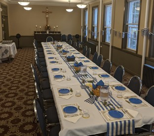 Greek themed Northern Deanery Luncheon