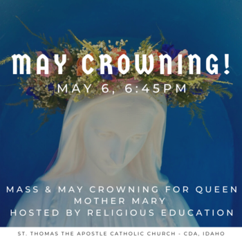 May Crowning Mass hosted by Religious Education