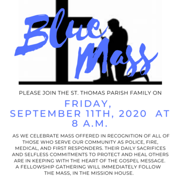 Blue Mass hosted by the Stars N Stripes Ministry