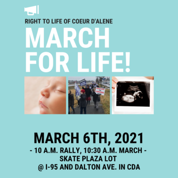CDA Right to Life March & Rally