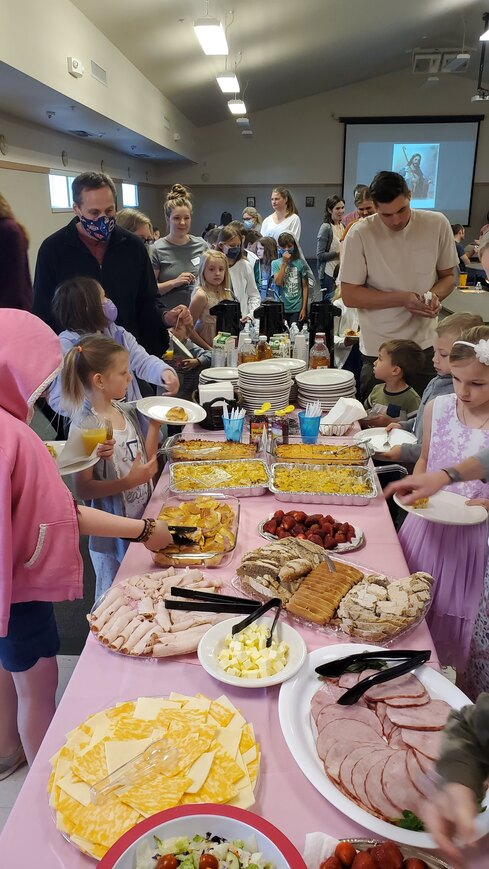 Brunch for First Communicants