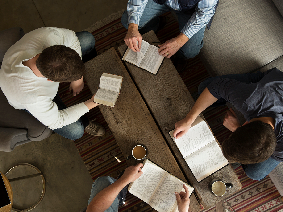 Where two or three are gathered in my name, there am I in the midst of them. (Mt 18:20)