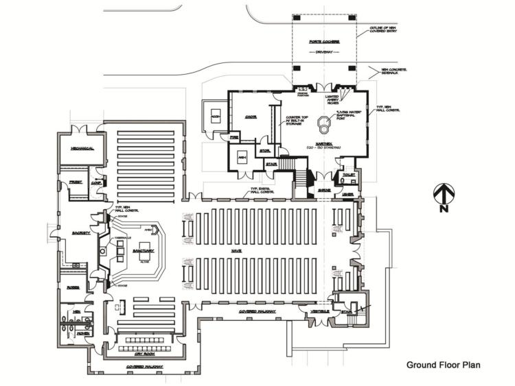 Main Church Floorplan