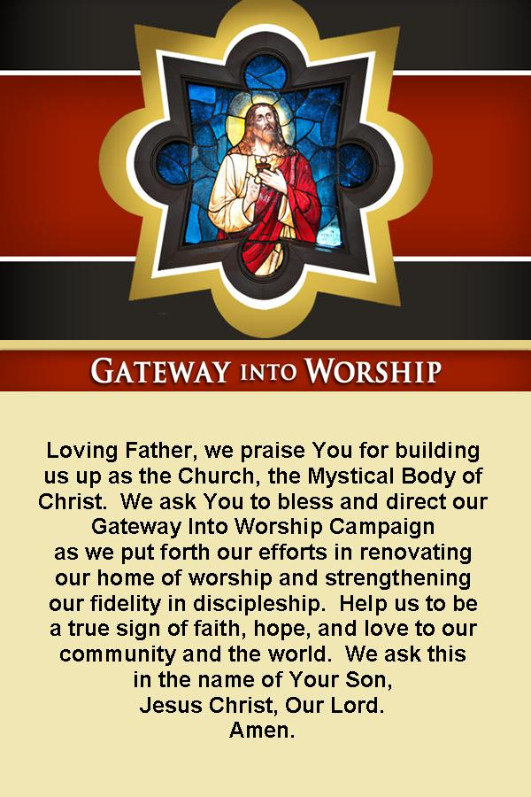 Gateway Prayer---English