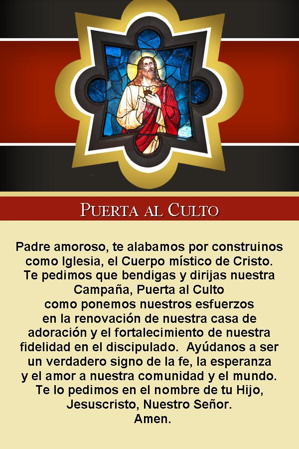 Gateway Prayer---Spanish