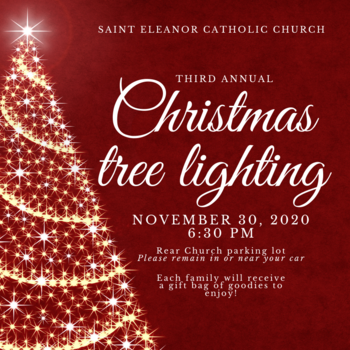 Christmas Tree Lighting at St. Eleanor Church
