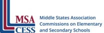 Logo for Middle States Association Commissions on Elementary and Secondary Schools