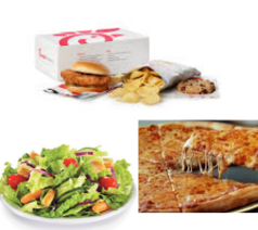 Picture of various food items