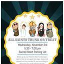All Saints' Day Trunk-Or-Treat