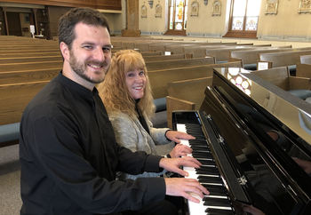 Dueling Piano with Fr. Ross & Monica October 18th