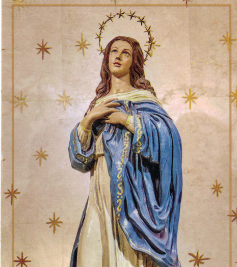 Blessed Virgin with Rosary