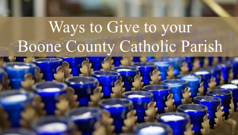 Please Continue to Give to your Parish