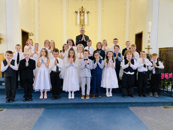 Congratulations First Communicants!