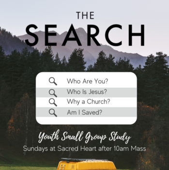Youth Small Group Study Starting September 19th