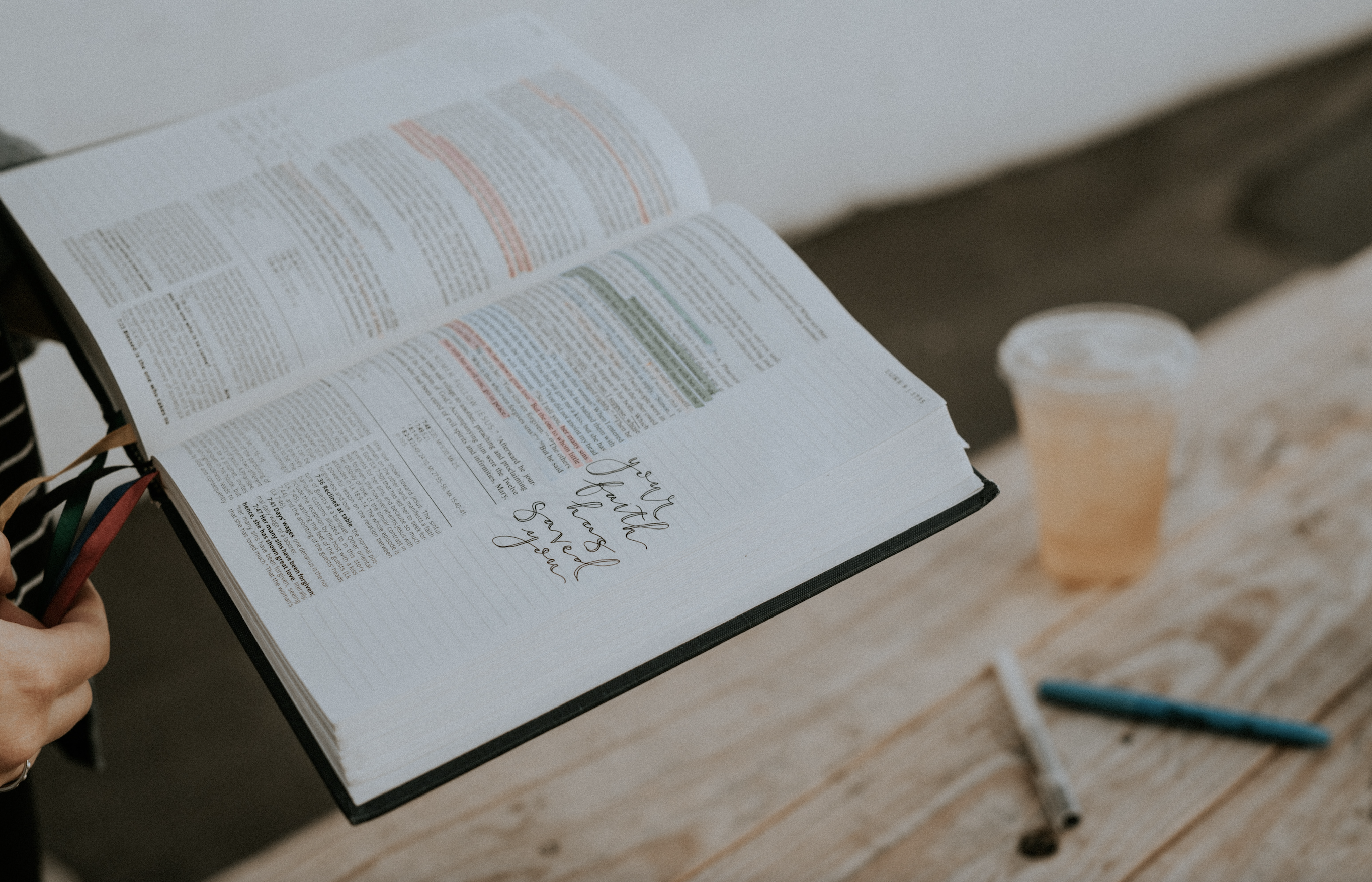 what we're sharing: the gospel