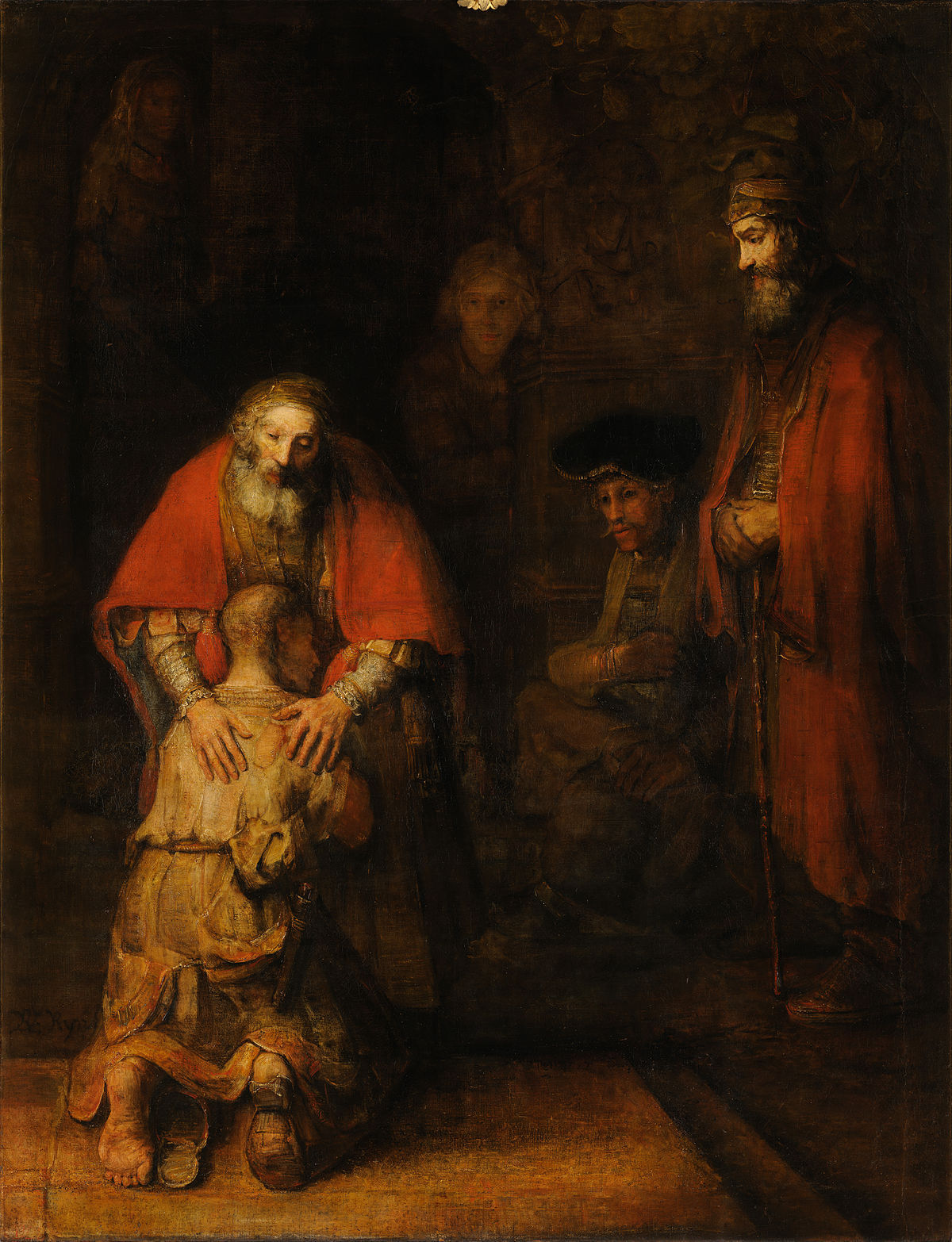 The Prodigal Son by Rembrant