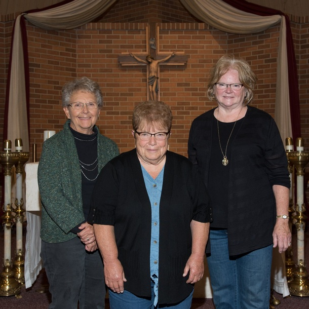 St. Charles Altar Society Officers