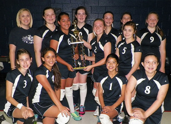 Lady Knights Win 2014 North Texas Independent League Championship