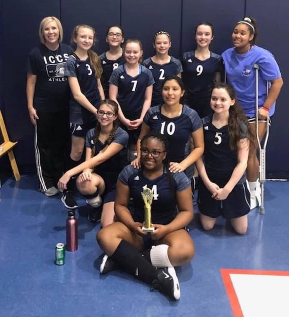 Congratulations to our 2019 Lady Knights Volleyball Team for earning3rd Place in NTIL!