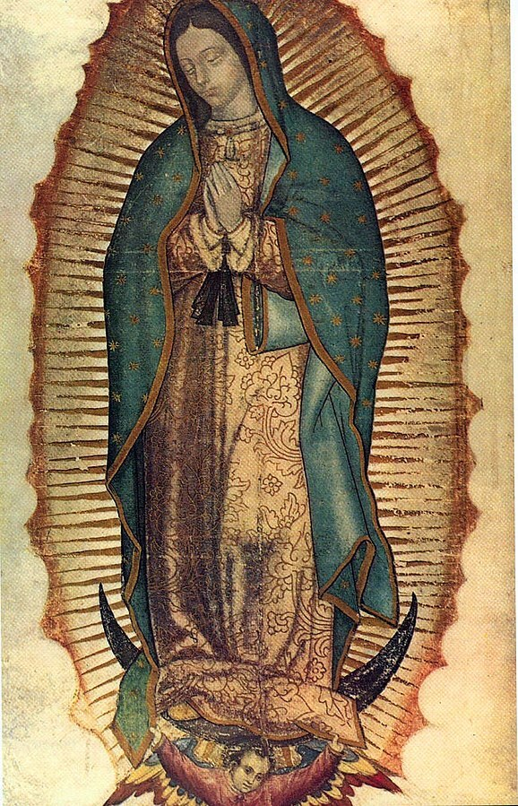 Our Lady of Guadalupe Public Domain photo