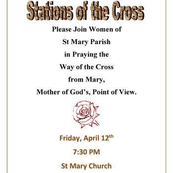 Stations of the Cross with Mary