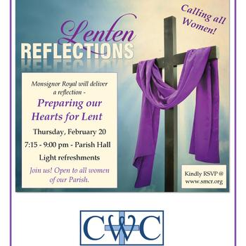 Lenten Reflection for Women - Preparing our Hearts for Lent